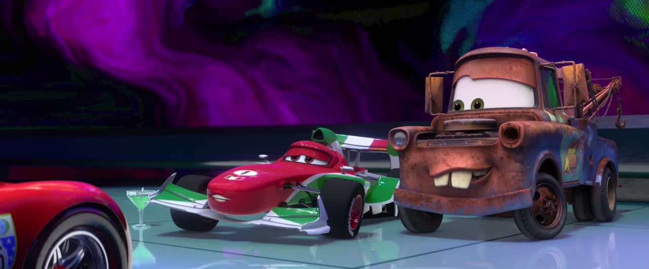 cars 2 review film takeout. Black Bedroom Furniture Sets. Home Design Ideas