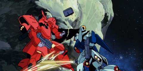 char's counterattack re-gz vs sazabi