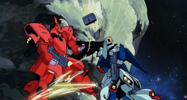 char's counterattack re-gz vs sazabi