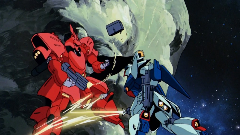 Mobile Suit Gundam Char S Counterattack Review Film Takeout